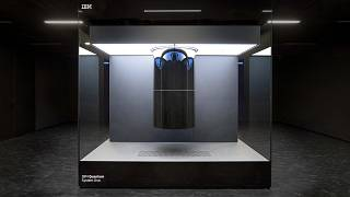 An IBM Quantum System One which was unveiled today in Germany and will be the most powerful quantum computer in Europe.