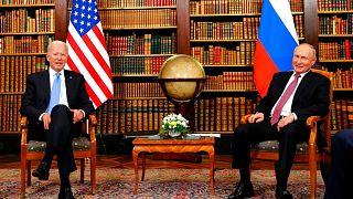 دیدار جو بایدن و ولادیمیر پوتین، روسای جمهوری آمریکا و روسیه