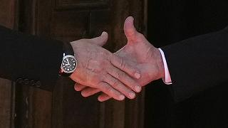 LA poignée de main Vladimir Poutine - Joe Biden, à Genève (Suisse), le 16/06/2021