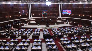 Cumhurbaşkanı Recep Tayyip Erdoğan, Azerbaycan Milli Meclisi'ne hitap etti