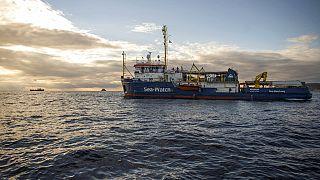 Imágen de archivo de uno de los barcos de Sea Watch.