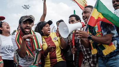 Opposition party in streets of Ethiopian capital ahead of vote