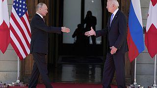 Putin y Biden satisfechos de la cumbre de Ginebra