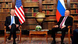 ABD Başkanı Joe Biden ile Rusya Devlet Başkanı Vladimir Putin'in Cenevre'deki görüşmesi sona erdi