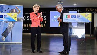 President von der Leyen visits Lisbon to present the Commission's assessment of the national recovery plan under NextGenerationEU