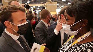 VivaTech : Emmanuel Macron optimiste pour la technologie africaine