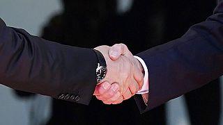 Historischer Händedruck zwischen Wladimir Putin und Joe Biden in Genf