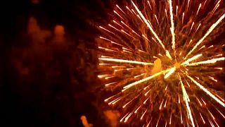 Nueva York celebró con fuegos artificiales el fin de las restricciones