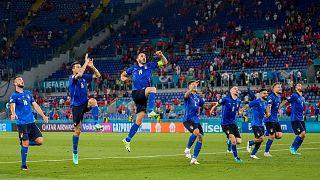 پیروزی تیم ملی فوتبال ایتالیا مقابل سوئیس