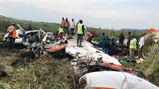 RDC : un petit avion s'écrase, les trois occupants tués