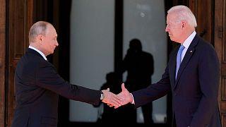 ملاقات بایدن و پوتین در ژنو