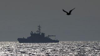 سفينة تابعة لمنظمة فرونتكس الأوروبية في المتوسط
