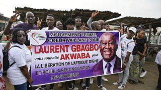 Laurent Gbagbo en route pour la Côte d'Ivoire