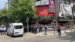 HDP İzmir İl Binasına saldırı