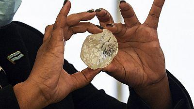 Le 3e plus gros diamant au monde découvert au Botswana