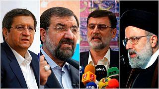 چهار نامزد نهایی انتخابات ۱۴۰۰ در ایران
