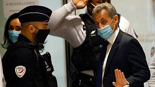 حضور نیکولا سارکوزی در جلسه دادگاه