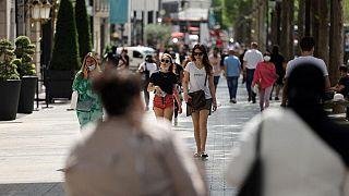 Frankreich schafft die Maskenpflicht im Freien ab, 17.06.2021