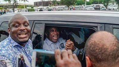 Laurent Gbagbo est à Abidjan
