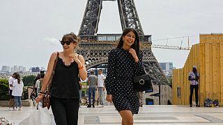 Ende der Maskenpflicht im Freien in Paris