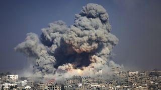 قصف إسرائيلي على قطاع غزة  (أرشيف - 2014)