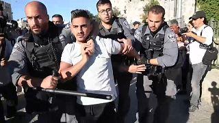 Tensión en la Puerta de Damasco en Jerusalén