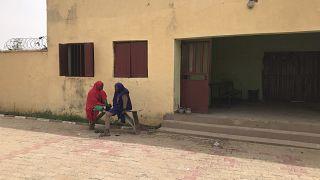 Nijerya'da öğrencilerin kaçırıldığı bir okul