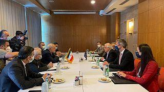 دیدار محمد جواد ظریف با جوزپ بورل در آنتالیا
