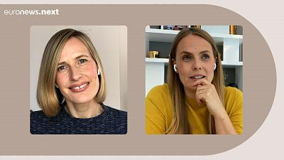 Bettina Fetzer, Head of Marketing talks to Euronews Next