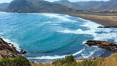 The Costa Blanca coast