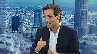 Stéphane Séjourné, conseiller politique d'Emmanuel Macron