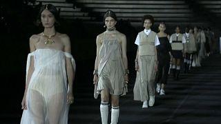 ديور - عرض للأزياء في أثينا