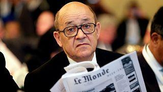 وزير الخارجية الفرنسي جان-إيف لودريان