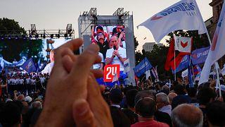 تجمع انتخاباتی مخالفان دولت ارمنستان