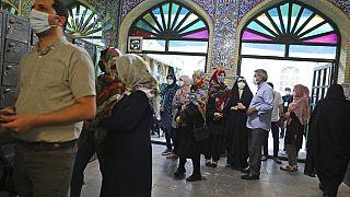 Szavazóhelyiség Iránban