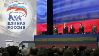 حزب بوتين يجتمع في أوج حملة قمع ضد المعارضة