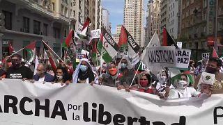 A Madrid la marcia per la libertà del popolo saharawi