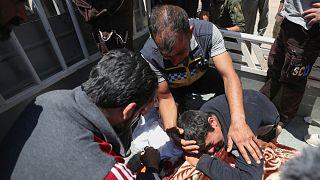 مقتل متطوع في قصف لمركز تابع للدفاع المدني السوري