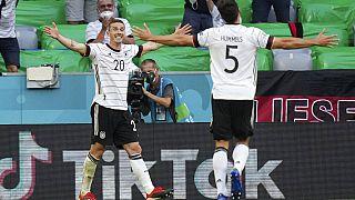Deutschland gewinnt gegen Portugal