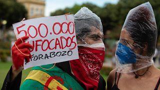 Demonstration in Manaus