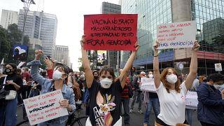 Brezilya'da iktidar karşıtı gösteriler