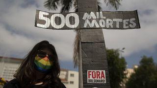 مظاهرات في البرازيل
