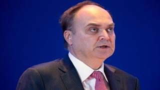 FILE: Russia's then Deputy Minister of Defense Anatoly Antonov speaks at the Xiangshan Forum, a gathering of the region's security officials, in Beijing, Oct. 17, 2015.