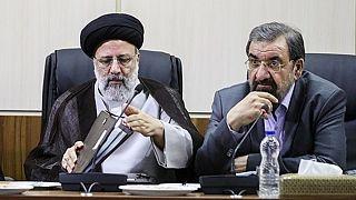 محسن رضایی و ابراهیم رئیسی
