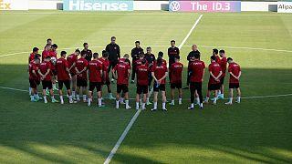 Türkiye Milli Takımı, İsviçre maçı hazırlıklarını tamamladı