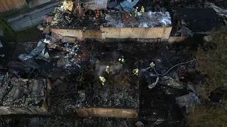Polonia, incendio distrugge 44 edifici in un villaggio nella regione di Spisz