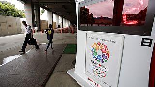 Tokyo Olimpiyatları afişi