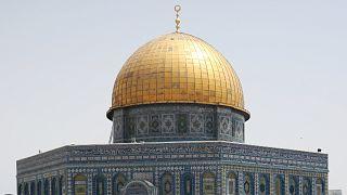 زخارف قبة المسجد الأقصى