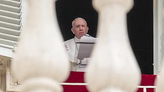 Pope Francis used his address on World Refugee Day to highlight the plight of thousands of displaced people in Myanmar