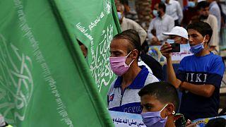 Hamas, ABD ve Ab'nin terör örgütü listesinde yer alıyor.